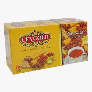Ceygold Masala Tea  25'S