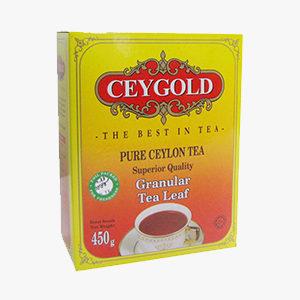 Ceygold Granular Tea Leaf     450G